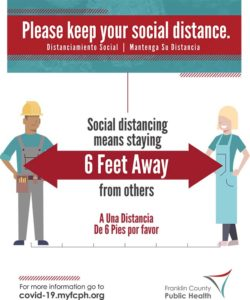 Elevator Advisory 6 foot by 8 foot poster
