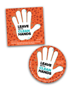 Handwashing Door Stickers