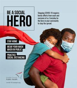 Be A Social Hero Sign