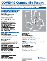 Columbus, OH local COVID-19 testing locations