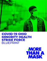 COVID-19 Ohio Minority Health Strike Force Blueprint cover image