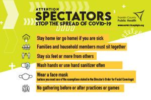 Sports Spectators Sign