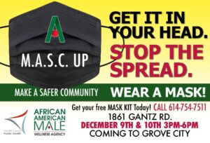 Get your free mask kit in Grove City