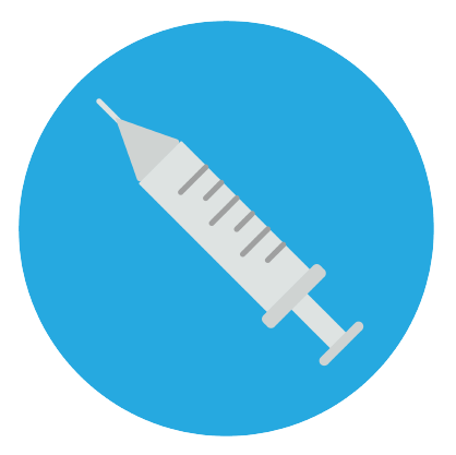 Get vaccinated icon