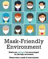 Mask-Friendly Environment Flier