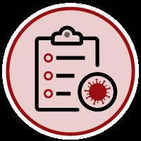COVID-19 clipboard icon
